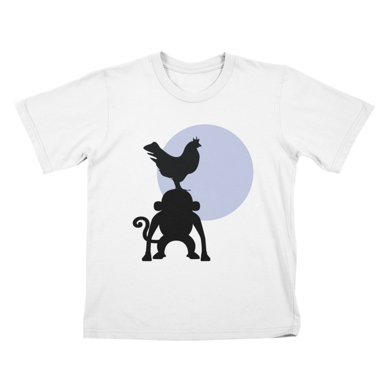 Cada macaco no seu un gallo Kids T-Shirt by Yellow Studio · the Shop!