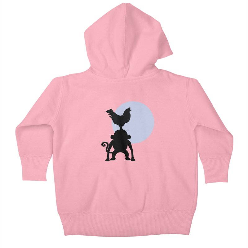 Cada macaco no seu un gallo Kids Baby Zip-Up Hoody by Yellow Studio · the Shop!