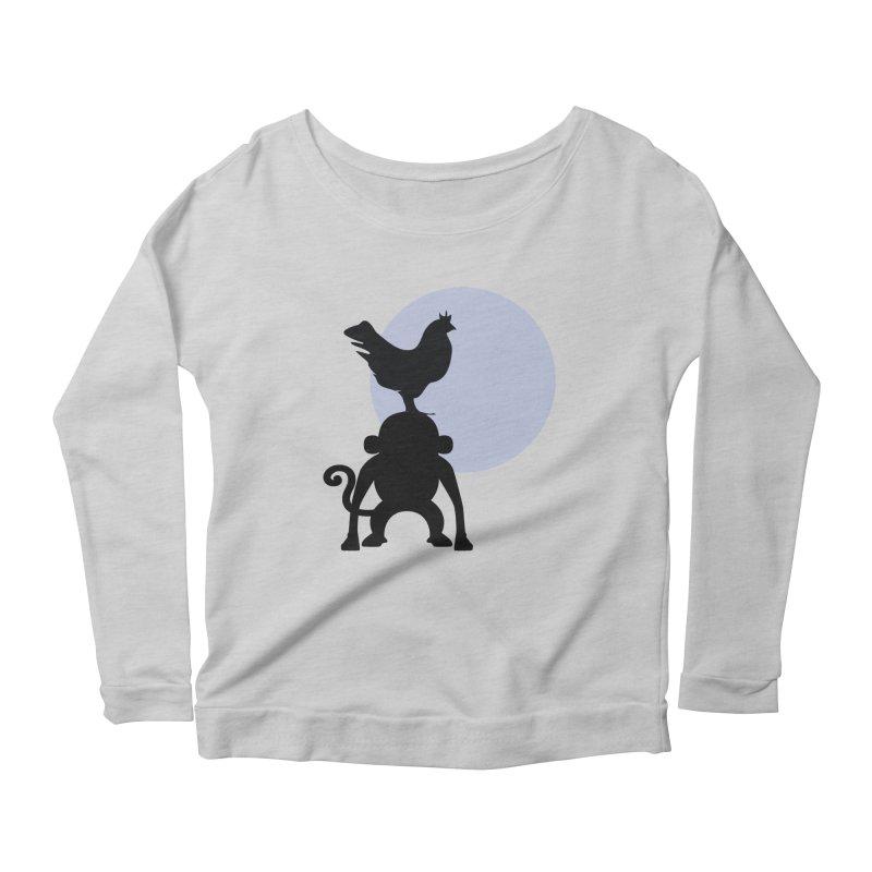 Cada macaco no seu un gallo Women's Scoop Neck Longsleeve T-Shirt by Yellow Studio · the Shop!
