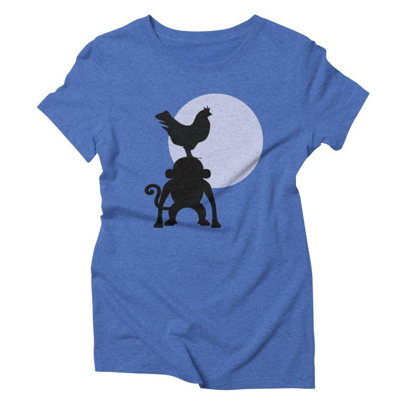 Cada macaco no seu un gallo Women's Triblend T-Shirt by Yellow Studio · the Shop!