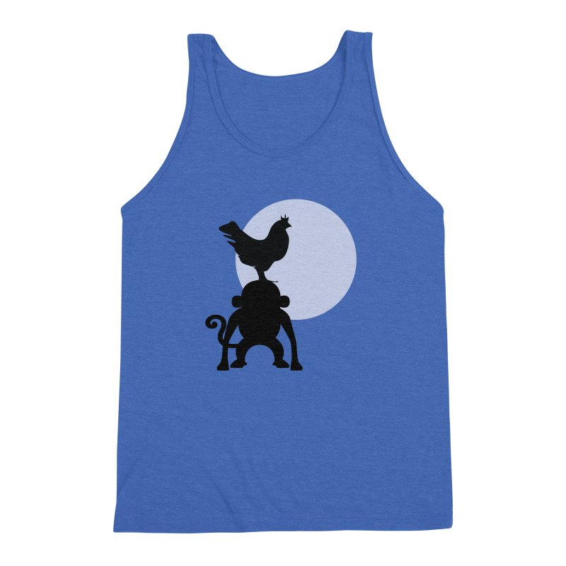Cada macaco no seu un gallo Men's Triblend Tank by Yellow Studio · the Shop!
