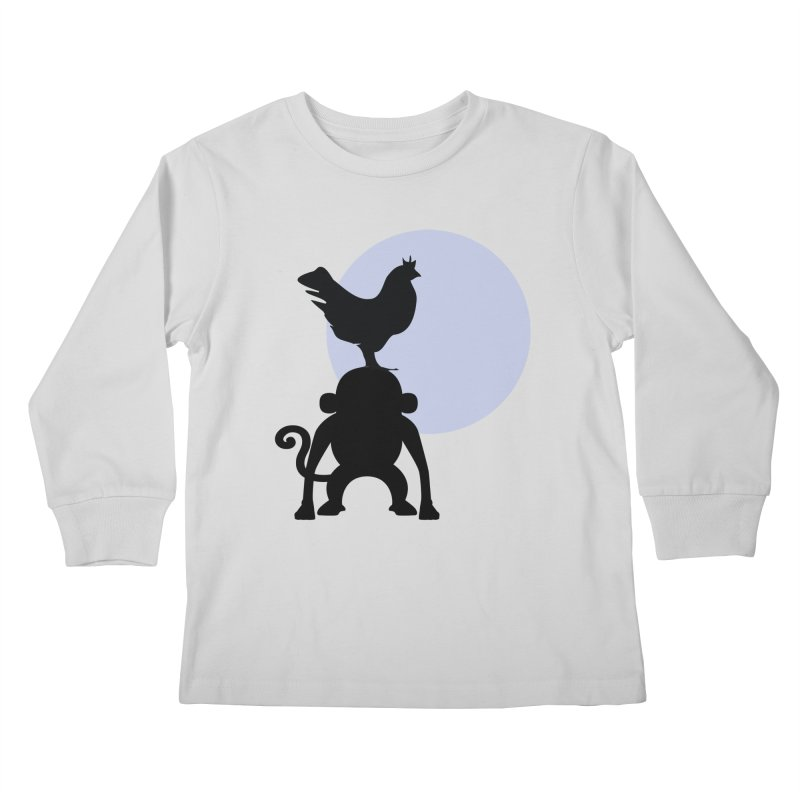 Cada macaco no seu un gallo Kids Longsleeve T-Shirt by Yellow Studio · the Shop!