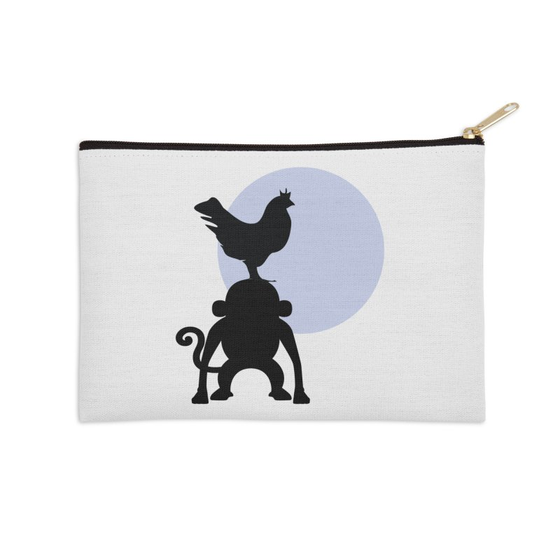 Cada macaco no seu un gallo Accessories Zip Pouch by Yellow Studio · the Shop!