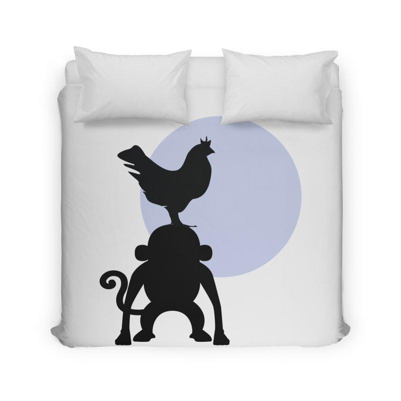 Cada macaco no seu un gallo Home Duvet by Yellow Studio · the Shop!