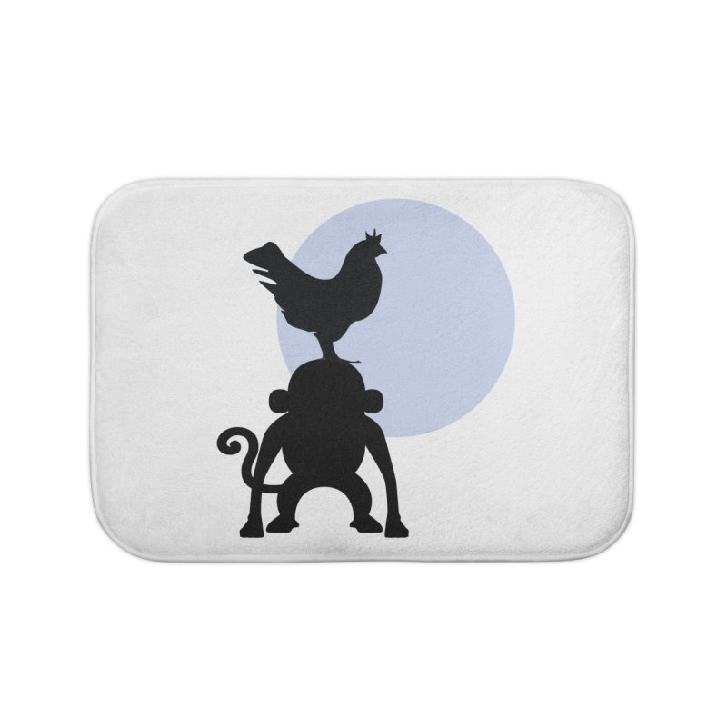 Cada macaco no seu un gallo Home Bath Mat by Yellow Studio · the Shop!