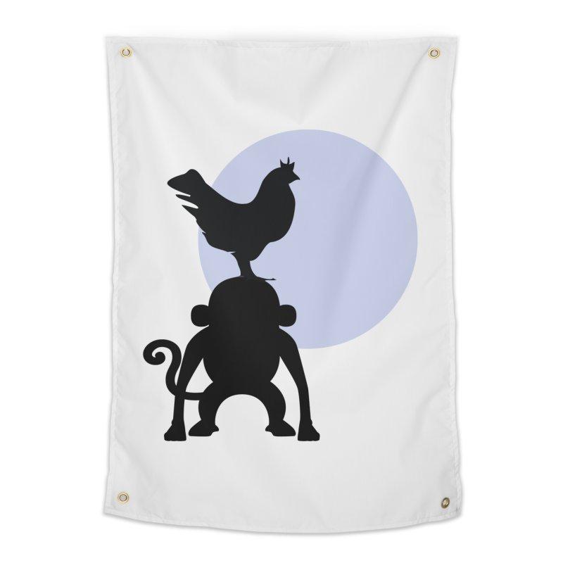 Cada macaco no seu un gallo Home Tapestry by Yellow Studio · the Shop!
