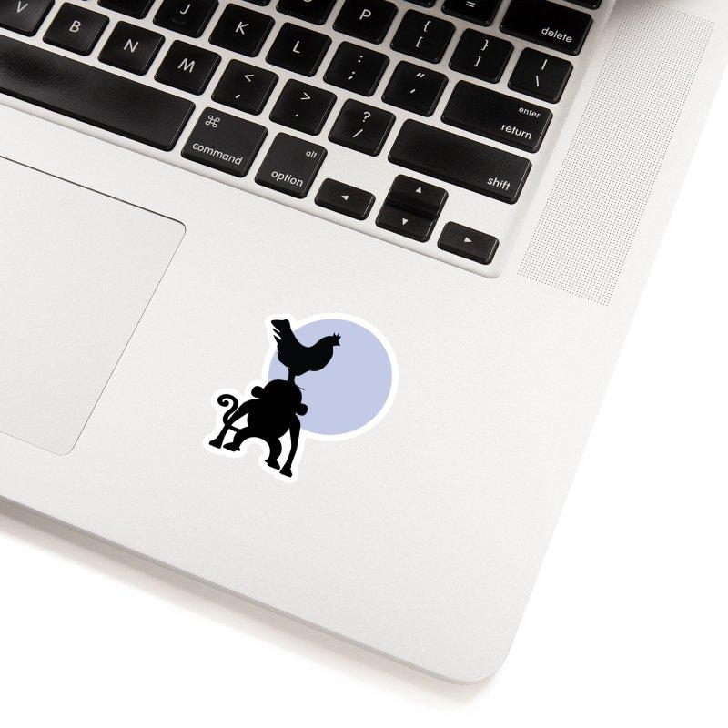 Cada macaco no seu un gallo Accessories Sticker by Yellow Studio · the Shop!