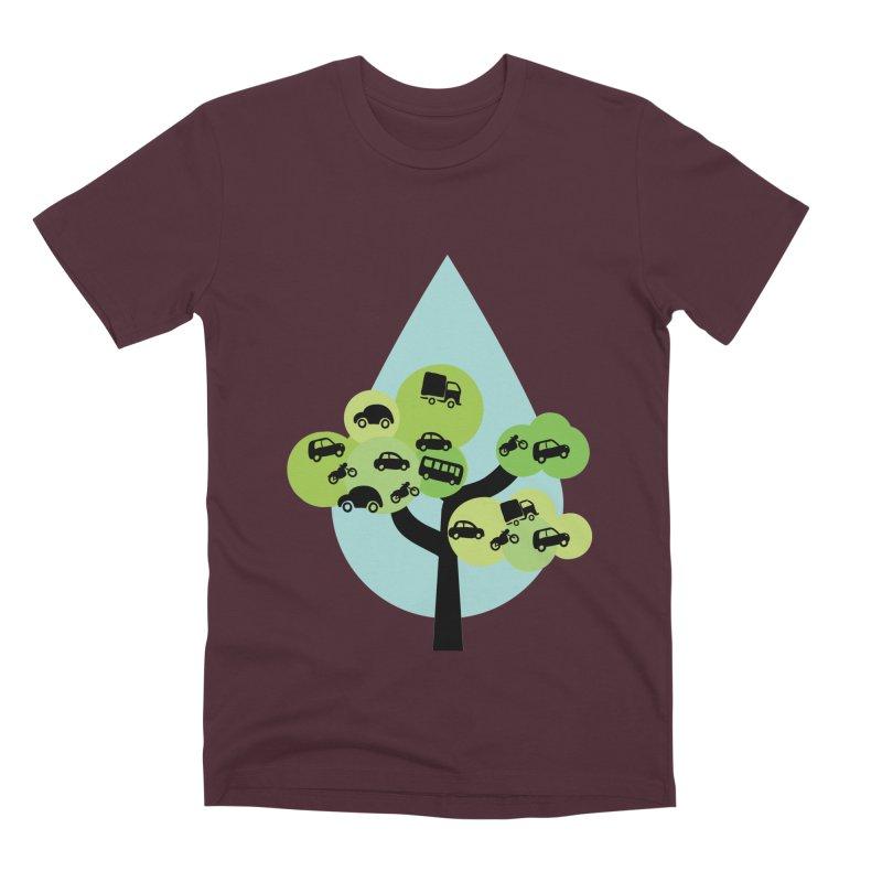 Cidade loca Men's Premium T-Shirt by Yellow Studio · the Shop!