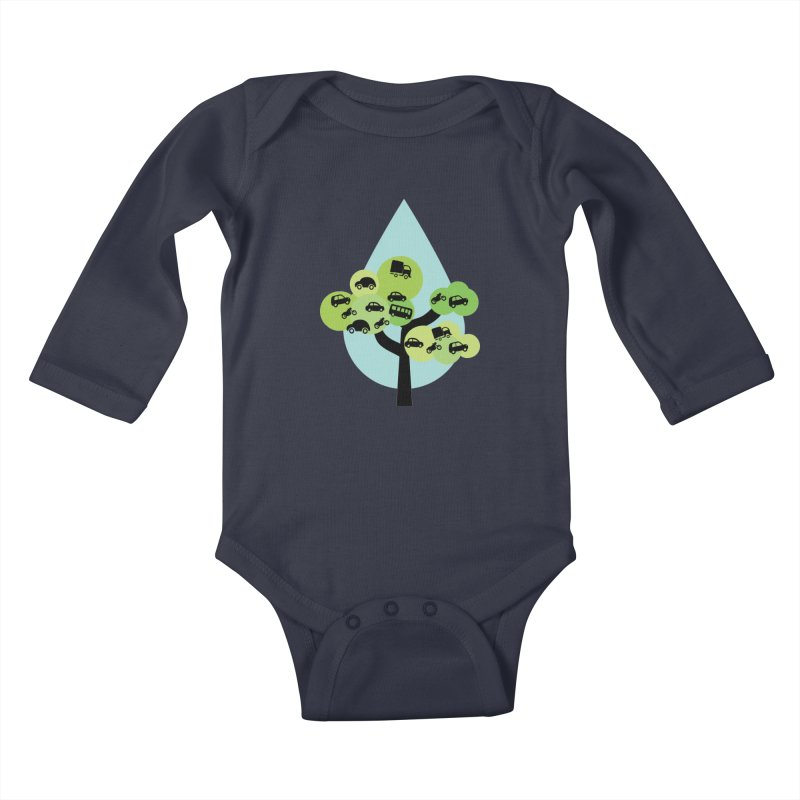 Cidade loca Kids Baby Longsleeve Bodysuit by Yellow Studio · the Shop!