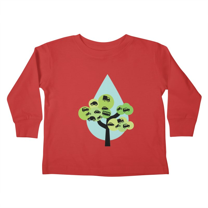 Cidade loca Kids Toddler Longsleeve T-Shirt by Yellow Studio · the Shop!