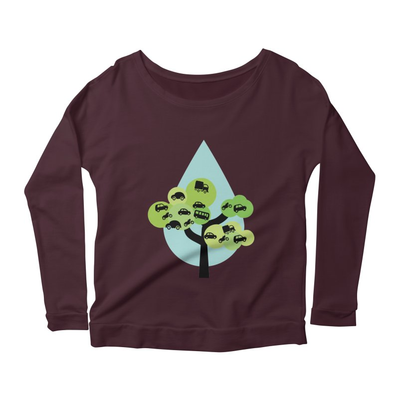 Cidade loca Women's Scoop Neck Longsleeve T-Shirt by Yellow Studio · the Shop!