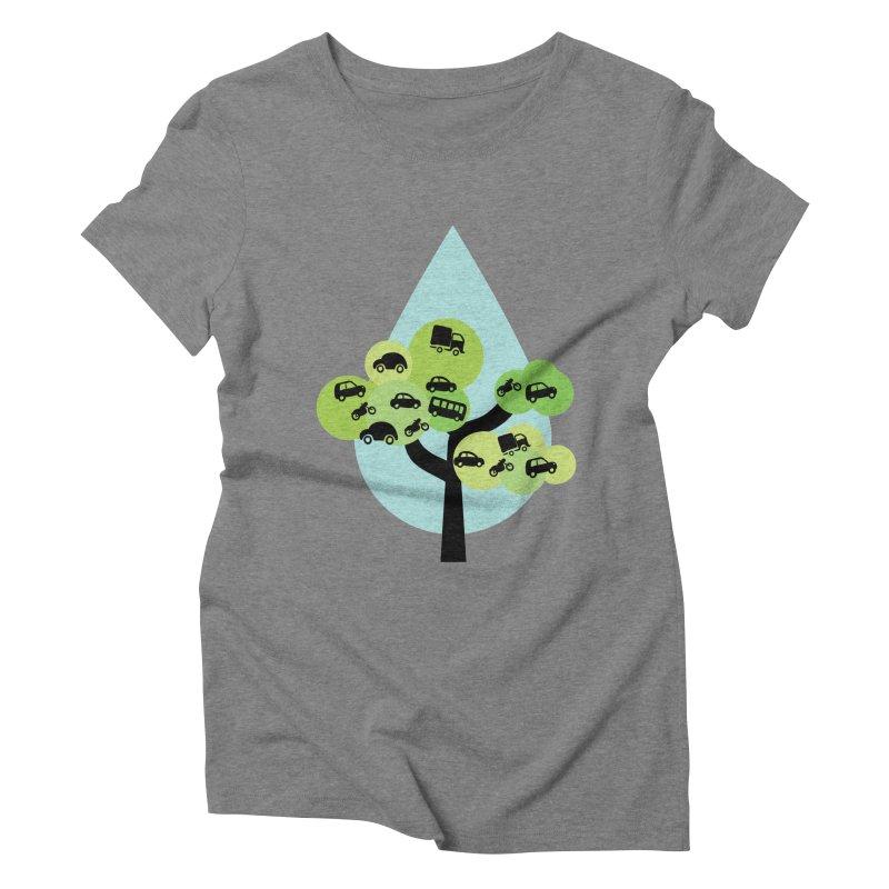 Cidade loca Women's Triblend T-Shirt by Yellow Studio · the Shop!