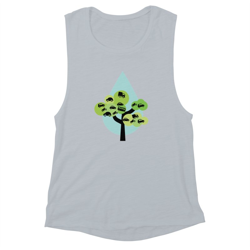 Cidade loca Women's Muscle Tank by Yellow Studio · the Shop!