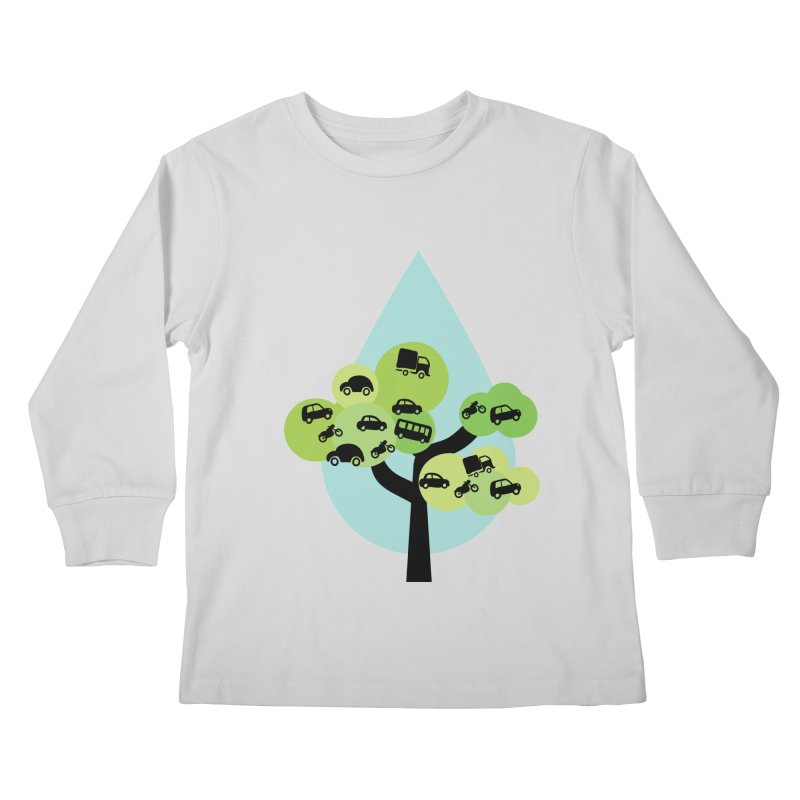 Cidade loca Kids Longsleeve T-Shirt by Yellow Studio · the Shop!