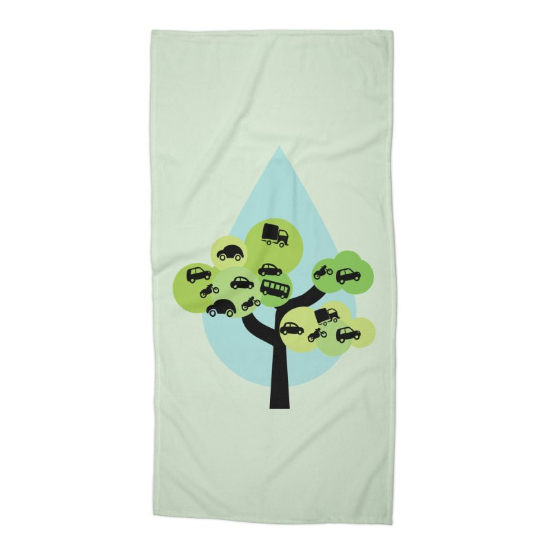 Cidade loca Accessories Beach Towel by Yellow Studio · the Shop!