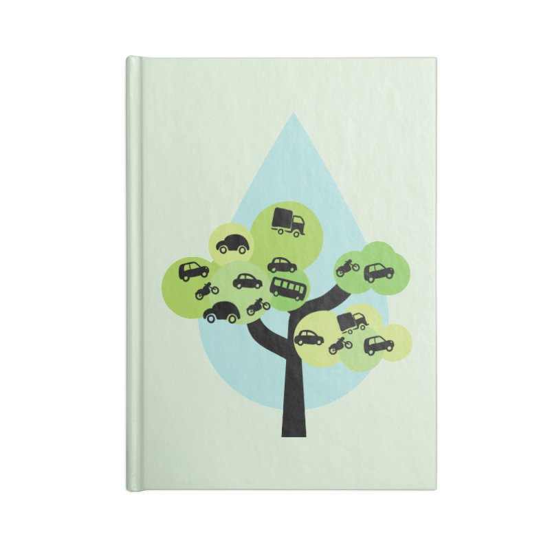 Cidade loca Accessories Blank Journal Notebook by Yellow Studio · the Shop!