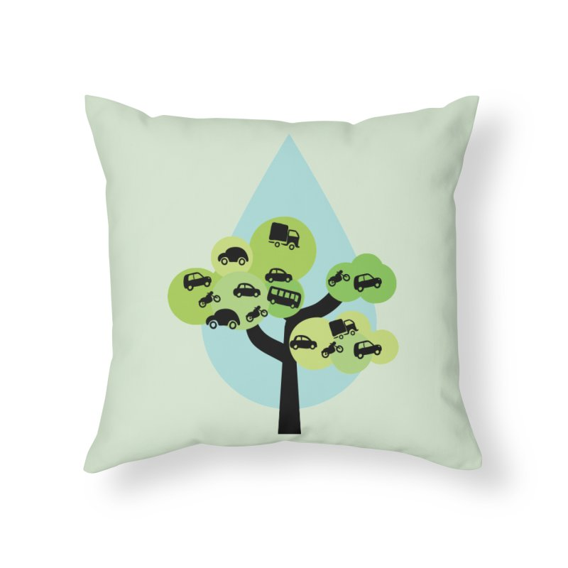 Cidade loca Home Throw Pillow by Yellow Studio · the Shop!