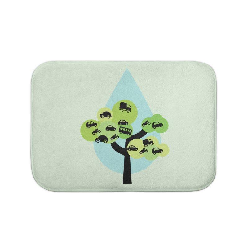 Cidade loca Home Bath Mat by Yellow Studio · the Shop!