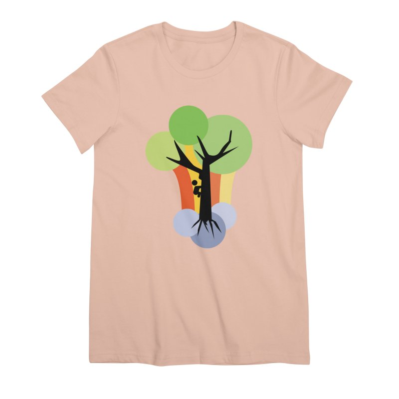 A walk in the park. Women's Premium T-Shirt by Yellow Studio · the Shop!