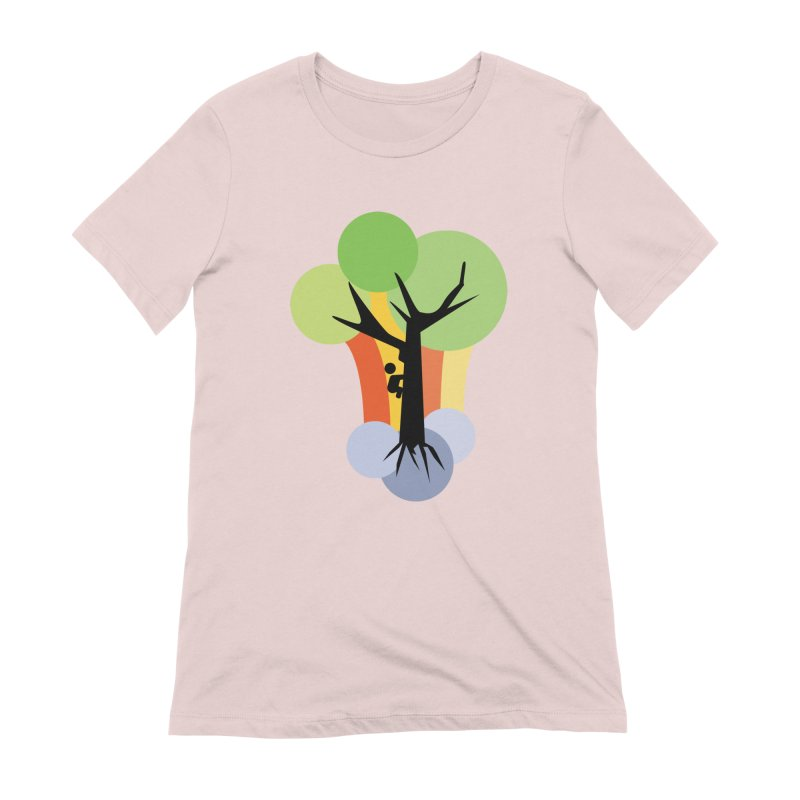 A walk in the park. Women's Extra Soft T-Shirt by Yellow Studio · the Shop!