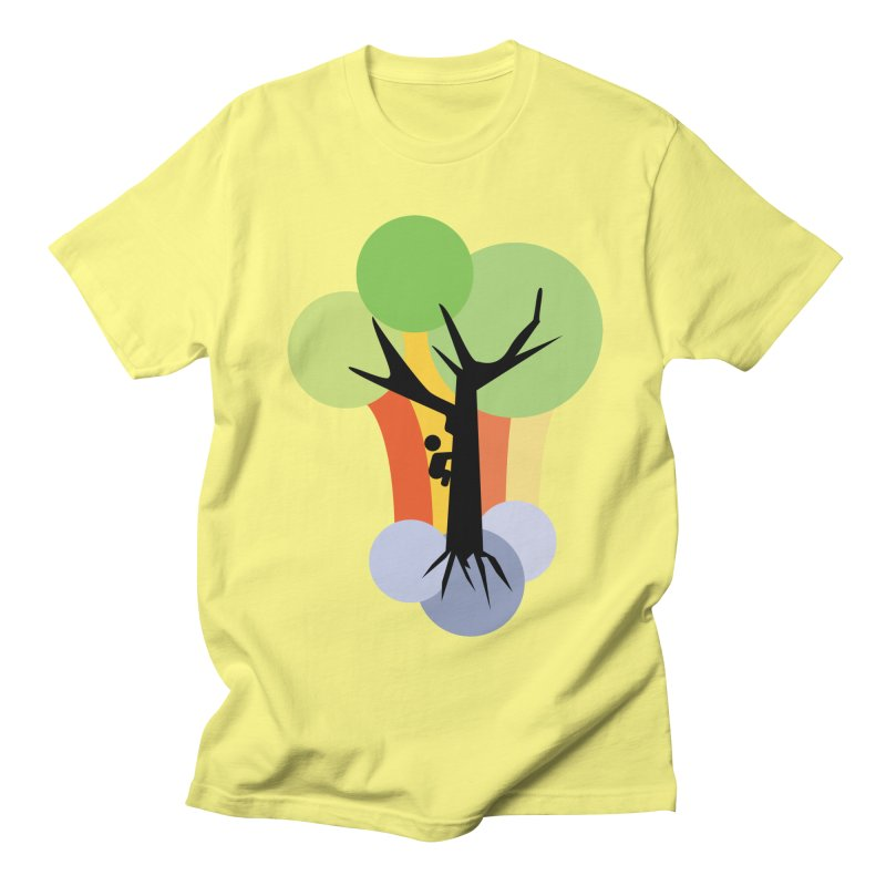 A walk in the park. Women's Regular Unisex T-Shirt by Yellow Studio · the Shop!