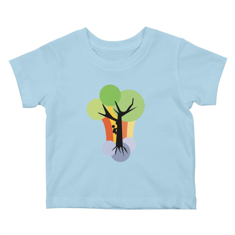 A walk in the park. Kids Baby T-Shirt by Yellow Studio · the Shop!