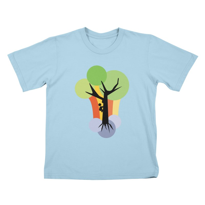 A walk in the park. Kids T-Shirt by Yellow Studio · the Shop!