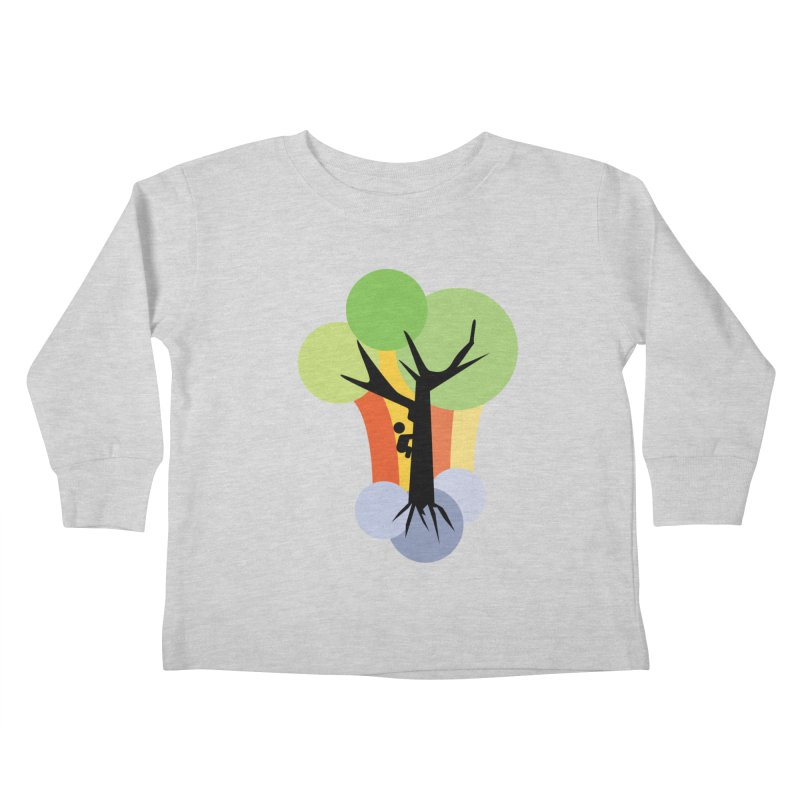 A walk in the park. Kids Toddler Longsleeve T-Shirt by Yellow Studio · the Shop!
