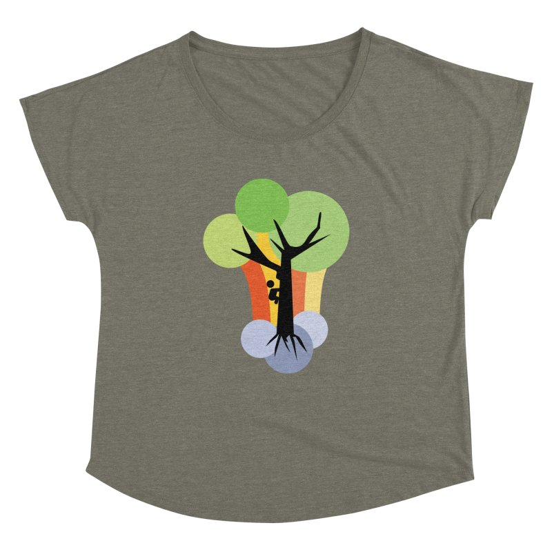 A walk in the park. Women's Dolman Scoop Neck by Yellow Studio · the Shop!