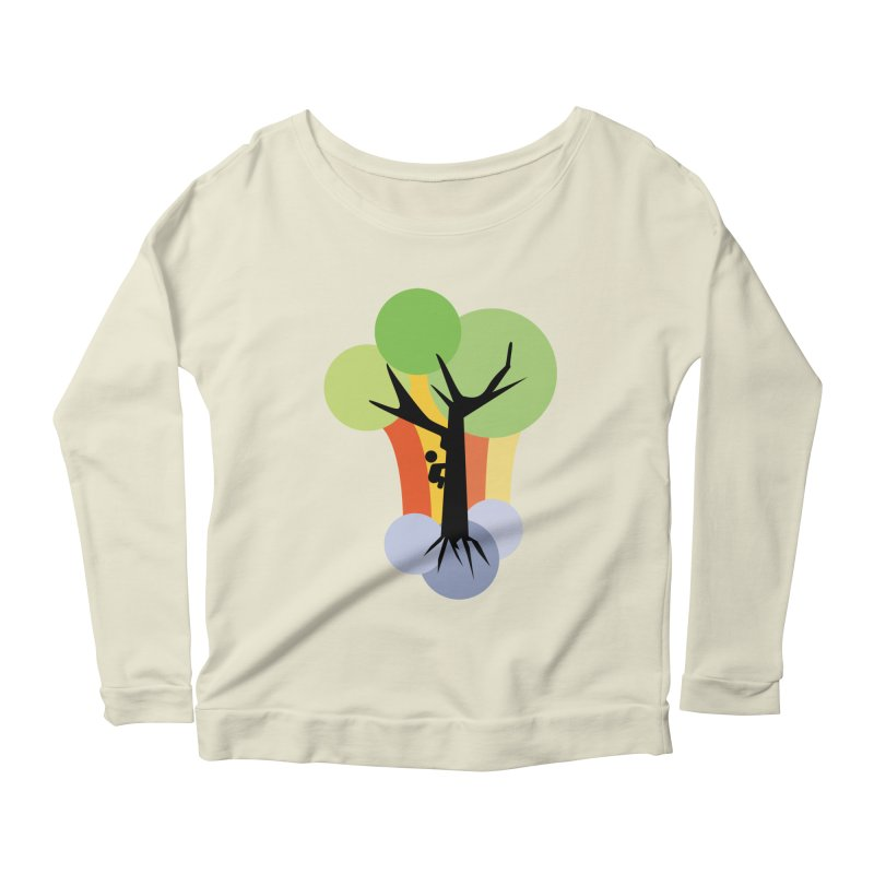 A walk in the park. Women's Scoop Neck Longsleeve T-Shirt by Yellow Studio · the Shop!