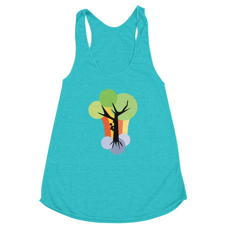 A walk in the park. Women's Racerback Triblend Tank by Yellow Studio · the Shop!