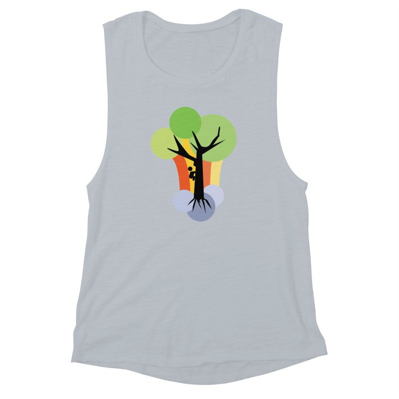 A walk in the park. Women's Muscle Tank by Yellow Studio · the Shop!