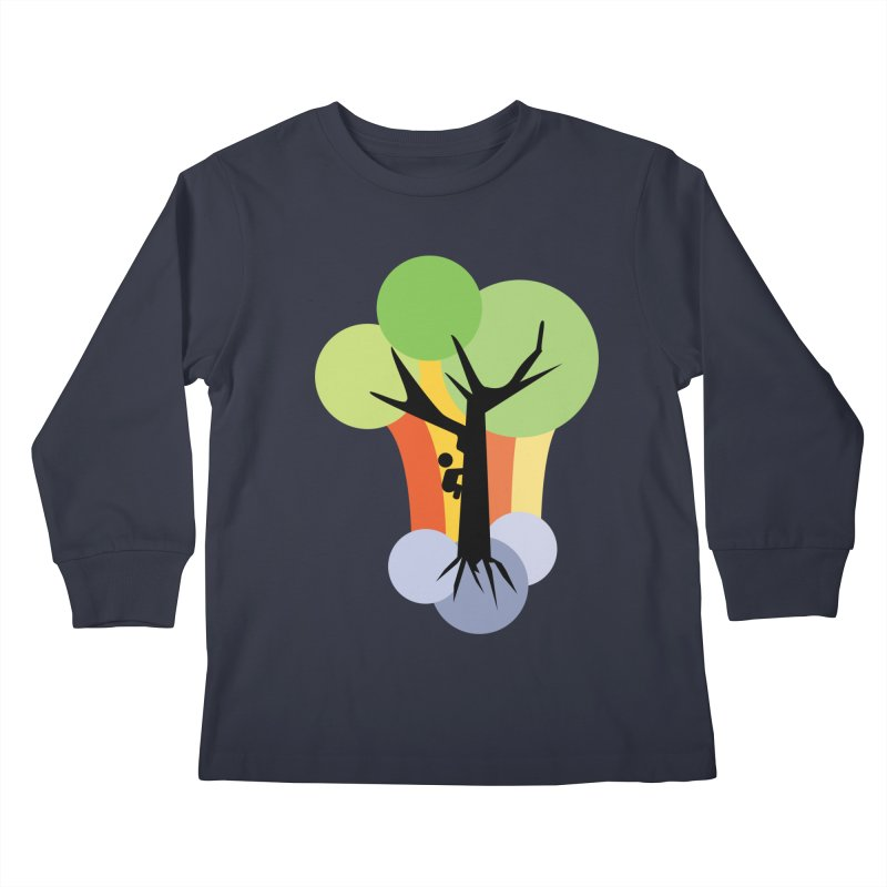 A walk in the park. Kids Longsleeve T-Shirt by Yellow Studio · the Shop!