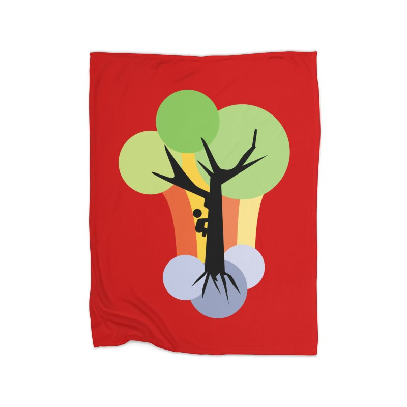A walk in the park. Home Fleece Blanket Blanket by Yellow Studio · the Shop!