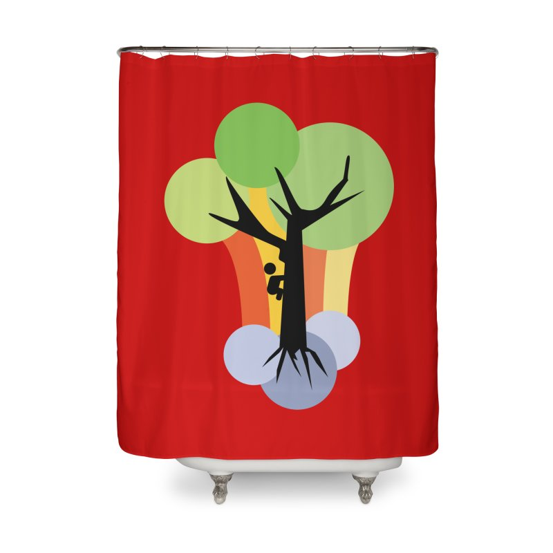 A walk in the park. Home Shower Curtain by Yellow Studio · the Shop!