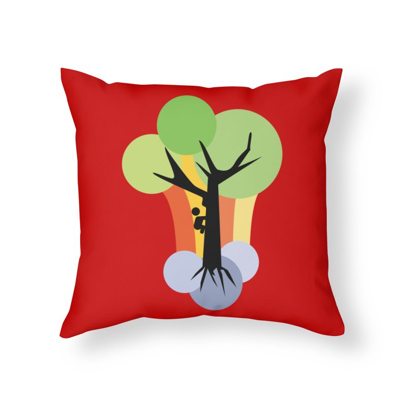 A walk in the park. Home Throw Pillow by Yellow Studio · the Shop!