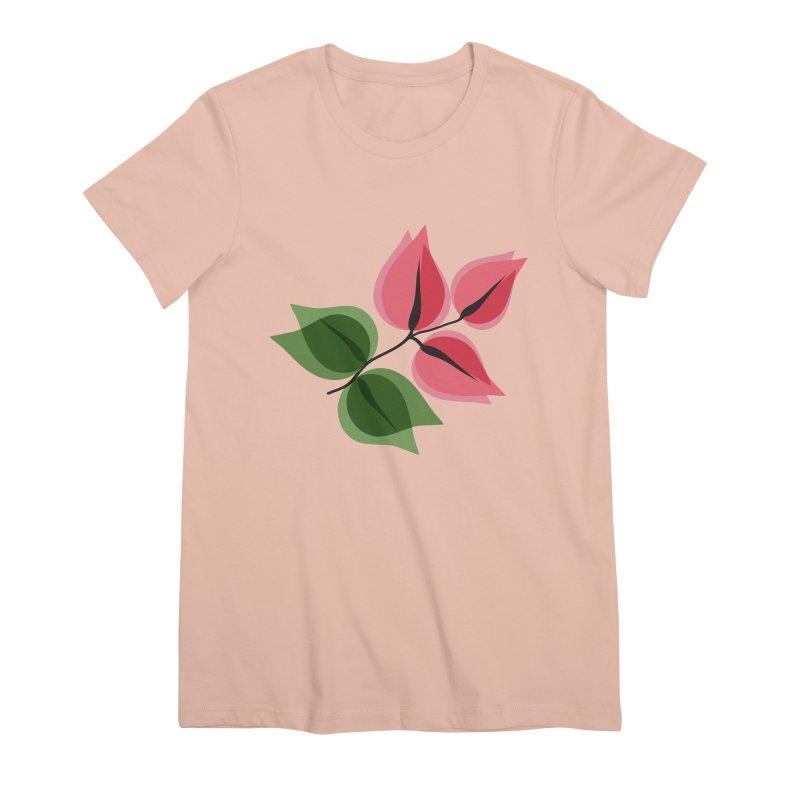Buganvillea Women's Premium T-Shirt by Yellow Studio · the Shop!