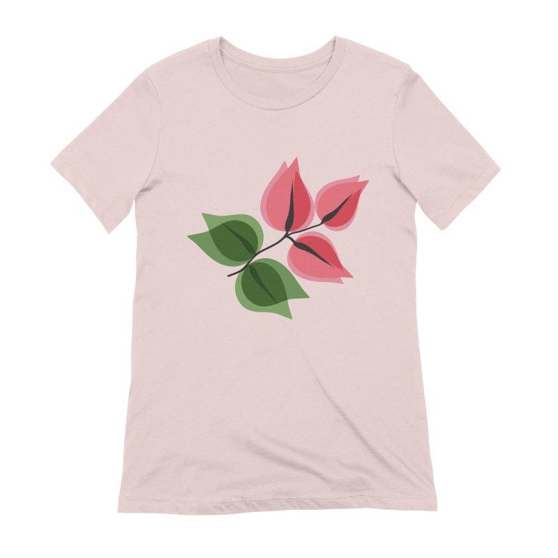 Buganvillea Women's Extra Soft T-Shirt by Yellow Studio · the Shop!