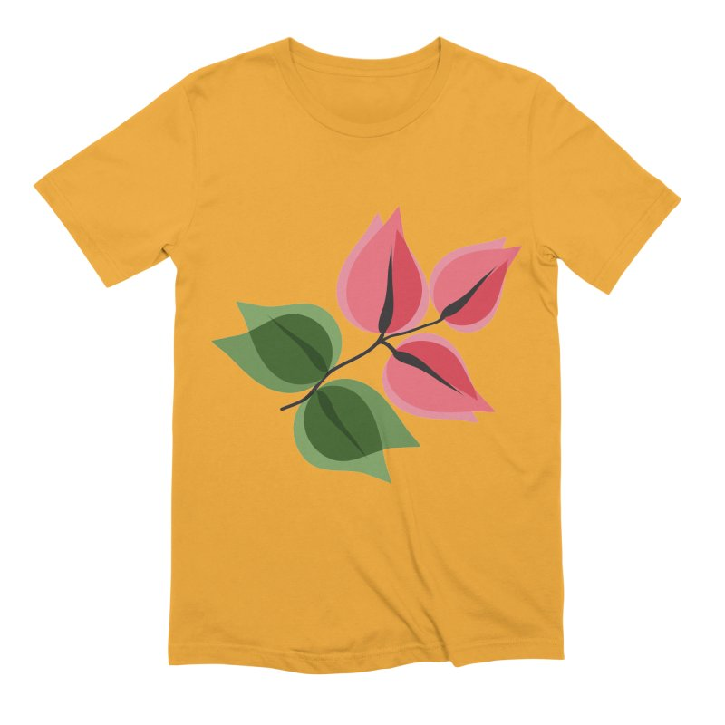 Buganvillea Men's Extra Soft T-Shirt by Yellow Studio · the Shop!