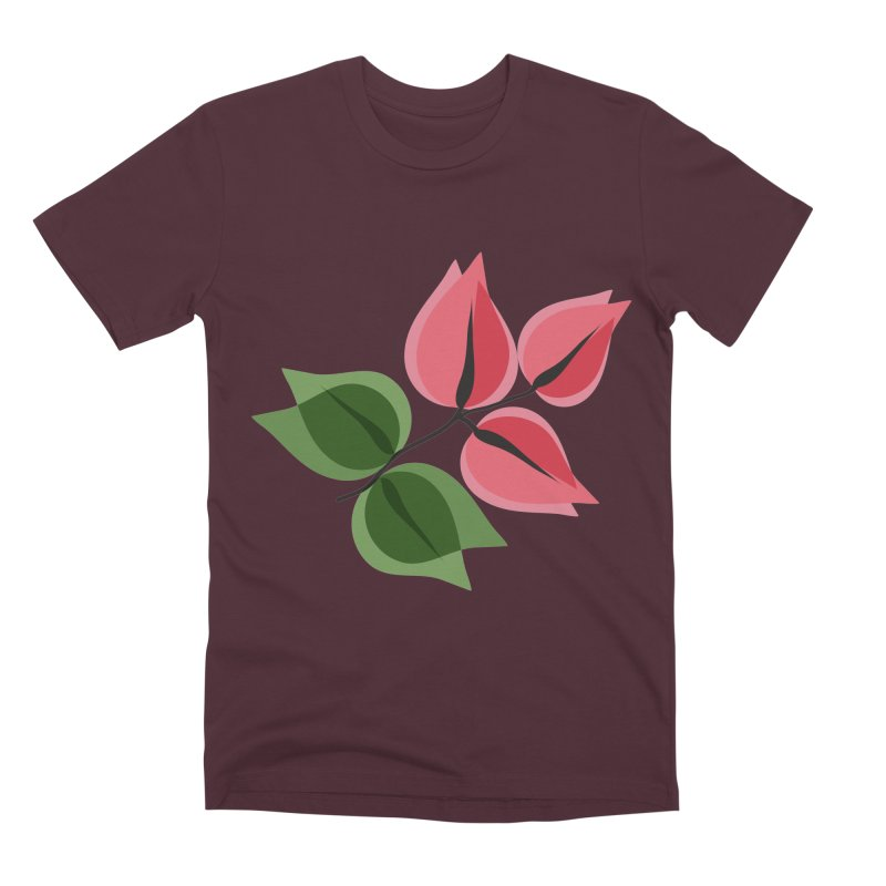 Buganvillea Men's Premium T-Shirt by Yellow Studio · the Shop!