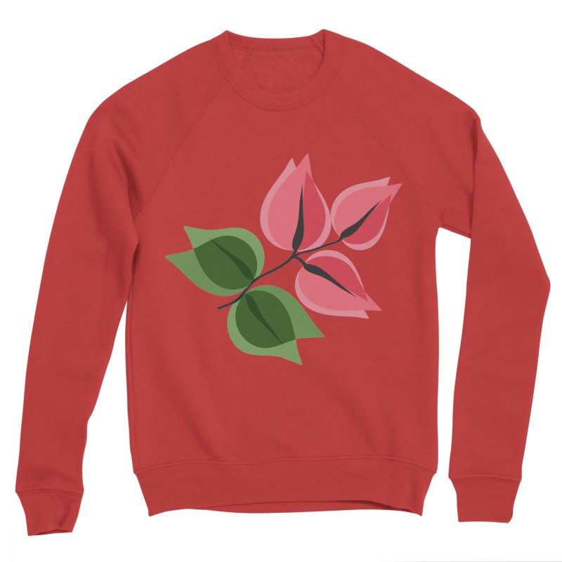 Buganvillea Men's Sponge Fleece Sweatshirt by Yellow Studio · the Shop!