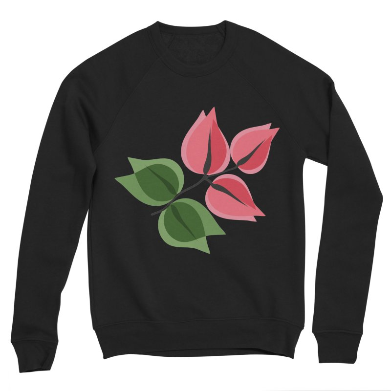 Buganvillea Women's Sponge Fleece Sweatshirt by Yellow Studio · the Shop!