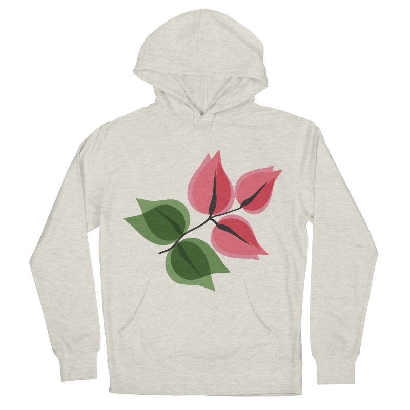 Buganvillea Women's French Terry Pullover Hoody by Yellow Studio · the Shop!