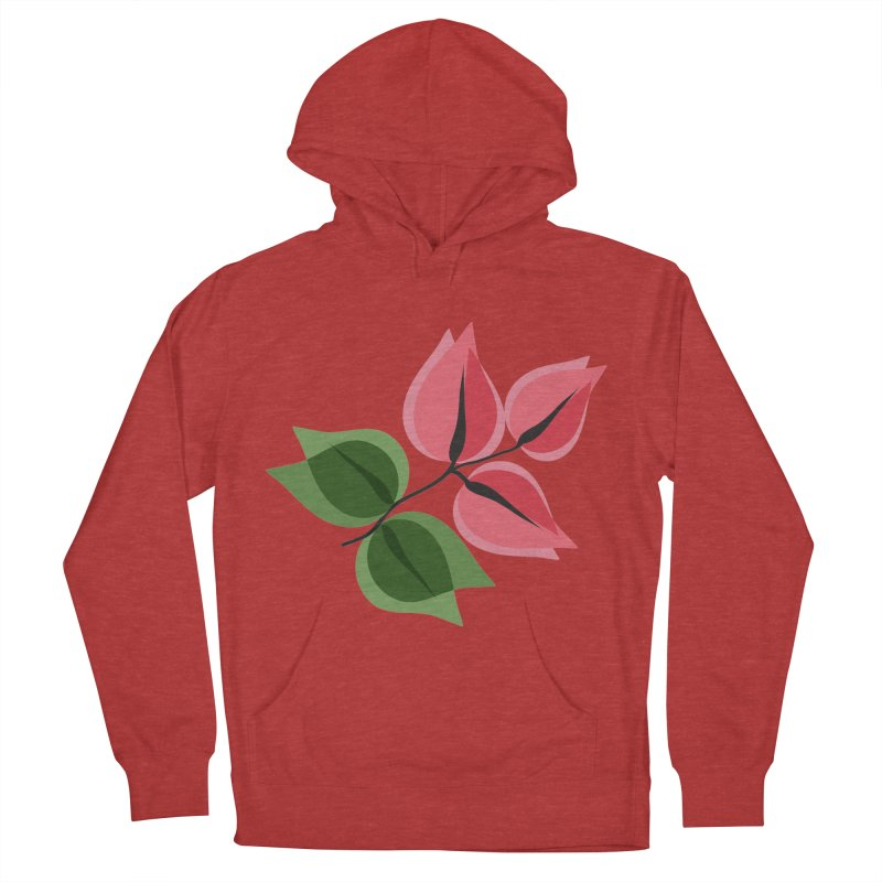 Buganvillea Men's French Terry Pullover Hoody by Yellow Studio · the Shop!