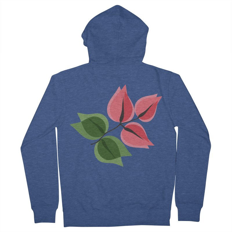Buganvillea Women's French Terry Zip-Up Hoody by Yellow Studio · the Shop!