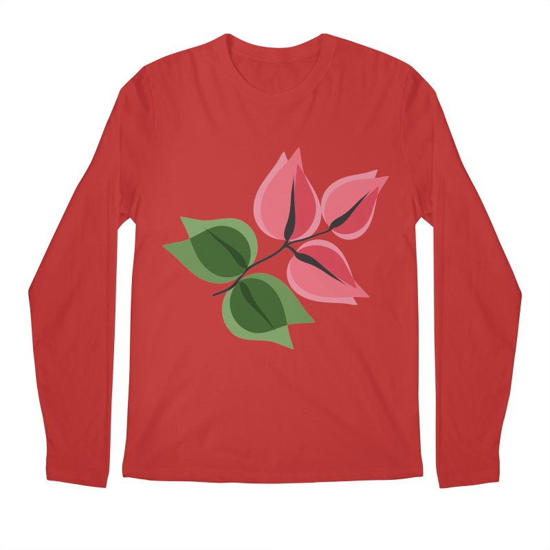 Buganvillea Men's Regular Longsleeve T-Shirt by Yellow Studio · the Shop!