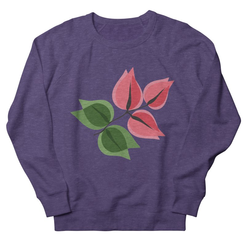 Buganvillea Women's French Terry Sweatshirt by Yellow Studio · the Shop!