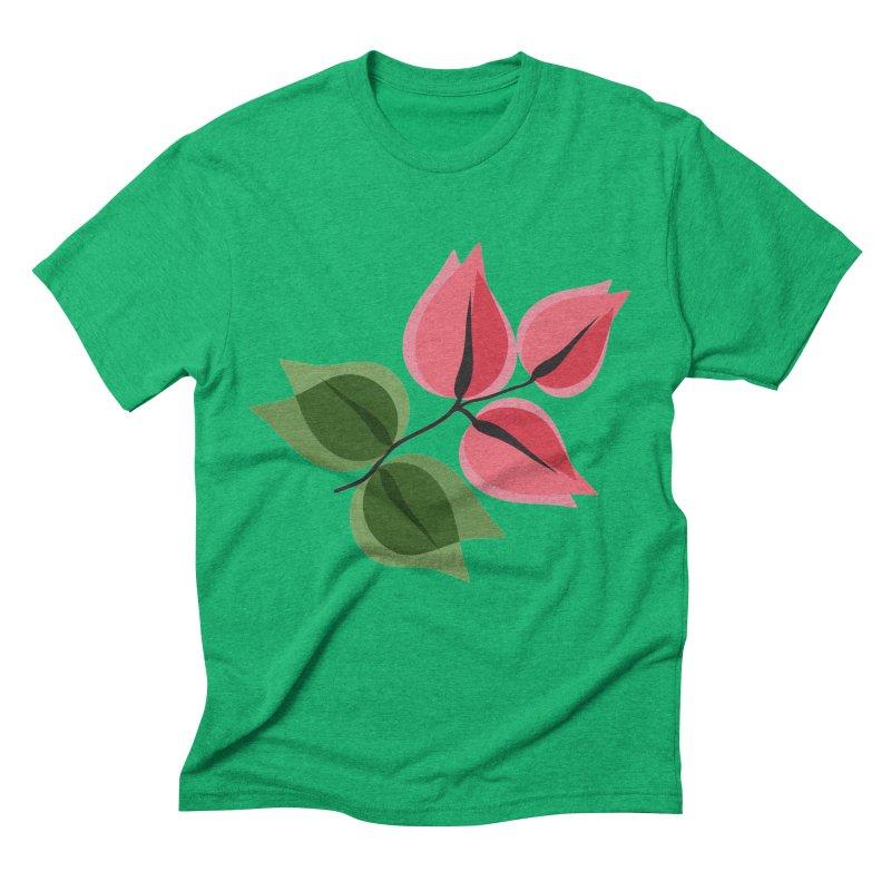 Buganvillea Men's Triblend T-Shirt by Yellow Studio · the Shop!