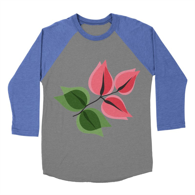Buganvillea Women's Baseball Triblend Longsleeve T-Shirt by Yellow Studio · the Shop!