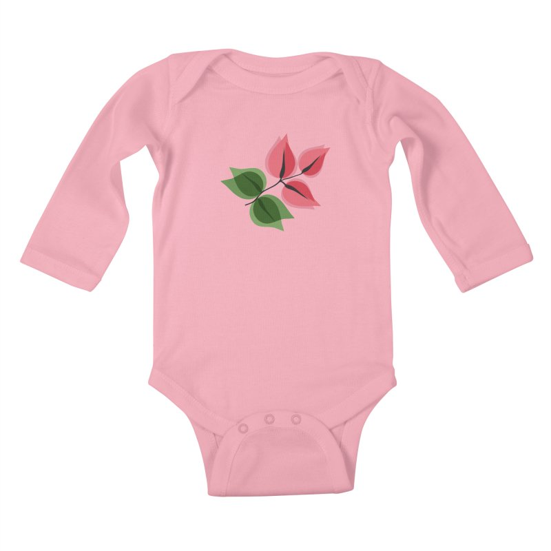 Buganvillea Kids Baby Longsleeve Bodysuit by Yellow Studio · the Shop!